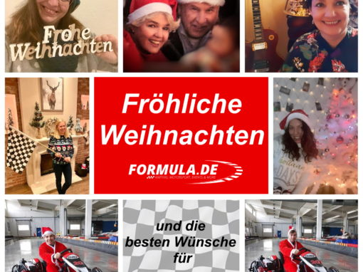Das Formula-Team wünscht Frohe Weihnachten